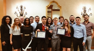 Image of Texas State University AITP at the 2018 USITCC Awards Banquet