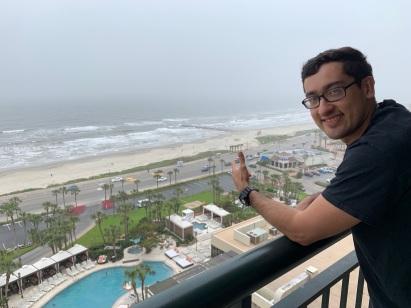 Martin enjoying the view!