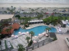 Sweet poolside view!